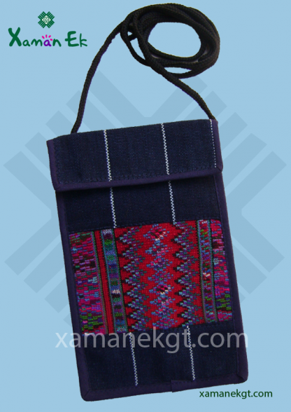 Guatemalan Passport Holder handmade by xaman ek