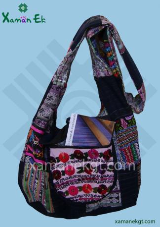 guatemalan patchwork shoulder bag