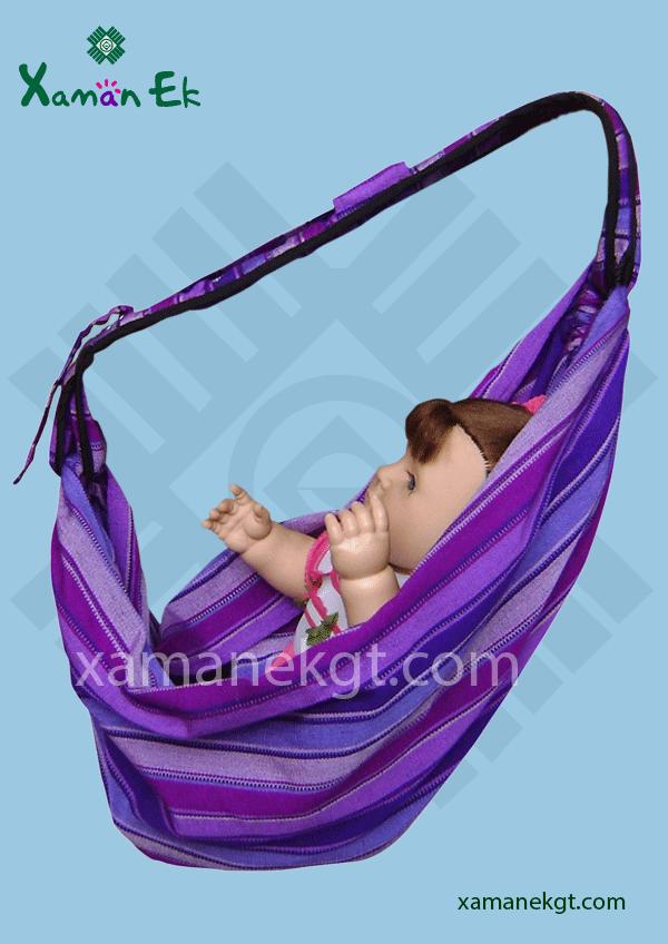Guatemalan Baby Newborn Carrier Sling Wrap Xaman Ek