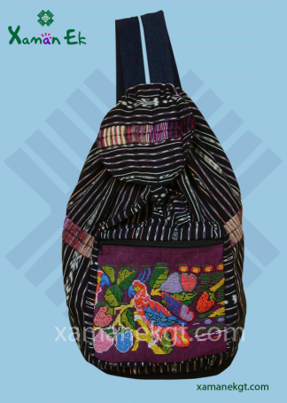 Guatemalan Backpack handmade in Guatemala by Xaman Ek