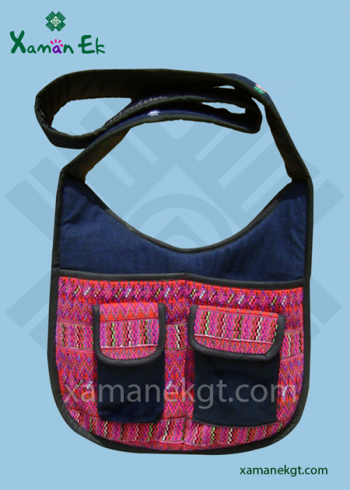 guatemalan shoulder bags, xaman ek
