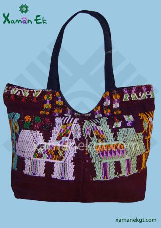 guatemalan handbag large by xaman ek