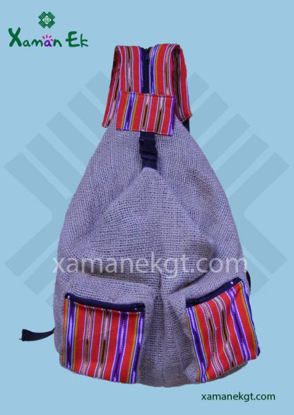 Guatemalan Jute Backpack Wholesale & worldwide Shipping by xaman ek