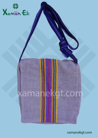 Guatemalan Jute Shoulder bag ethically produced by xaman ek
