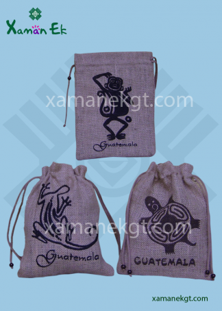 Guatemalan Jute Bag ethically made in Guatemala by xaman ek
