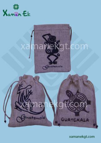 Guatemalan Jute Bag ethically made in Guatemala by xaman ek
