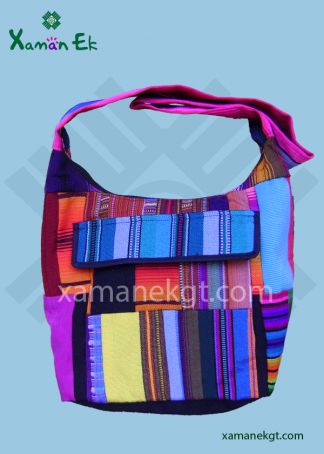 Guatemalan Patchwork bag ethically made by Xaman Ek