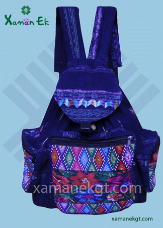 Mayan backpacks handmade in Guatemala by Xaman Ek
