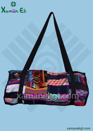 Mayan Gym bag handmade in Guatemala by xaman ek