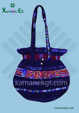 Mayan Handbag from Guatemala ethically made by xaman ek