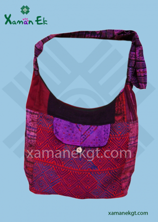 Guatemalan shoulder bag ethically produced by xaman ek