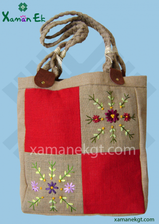 mayan tote bag by xaman ek