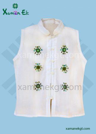 Guatemalan Sleeveless blouse