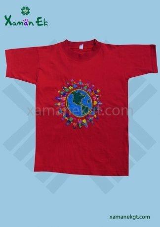 Guatemalan T-shirt hand woven