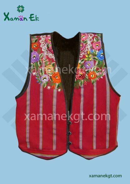 Guatemalan Vest handmade by Xaman Ek