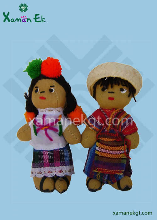 Guatemalan dolls – small