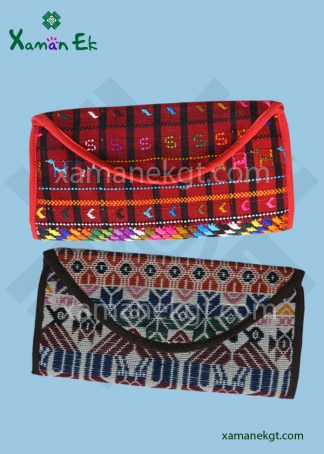 Guatemalan Clutch purse handmade by xaman ek