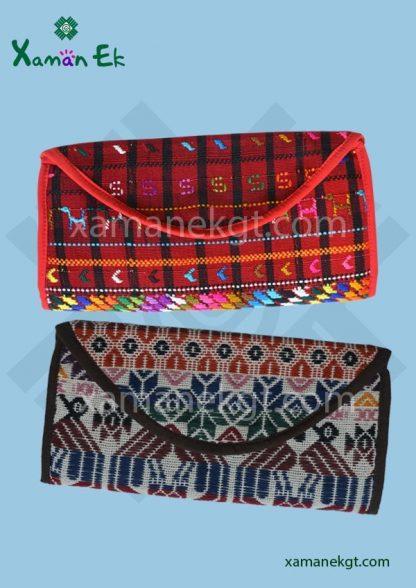 Guatemalan Clutch purse handmade by xaman ek