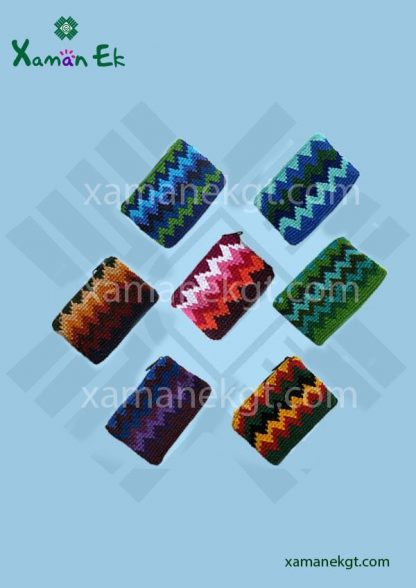 crochet Coin purses wholesale handmade in Guatemala by xaman ek