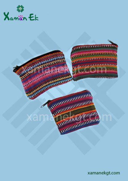 guatemalan coin purses wholesale 100% cotton by xaman ek