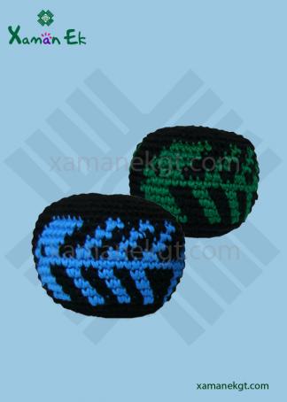 guatemalan crochet balls handmade by xaman ek