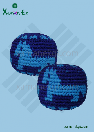 guatemalan crochet balls or hacky sacks