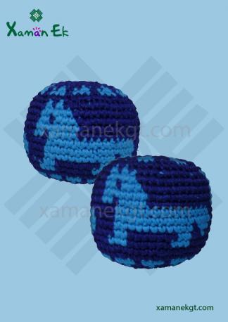 guatemalan crochet balls or hacky sacks