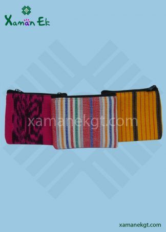mayan & guatemalan coinpurse handmade by Xaman ek