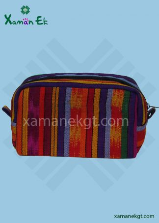 mayan cosmetic bag handmade in guatemala