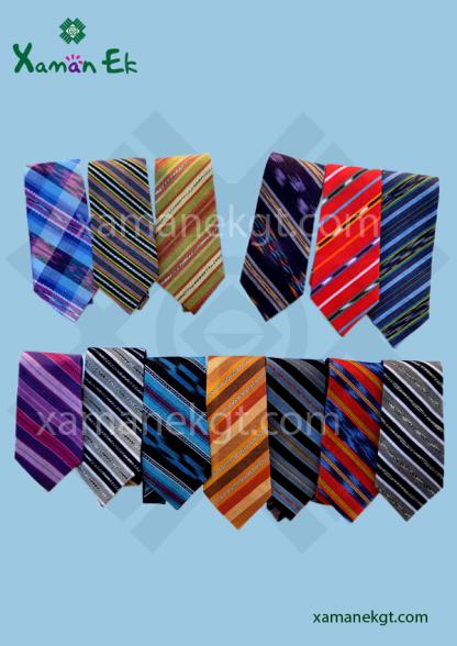 Guatemalan ties, handmade by Xaman Ek