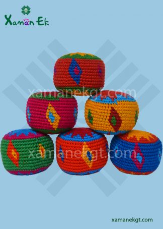 Guatemalan Diamond Hacky Sacks