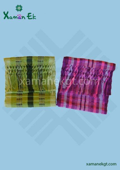 Mayan Multicolor Cotton Scarf