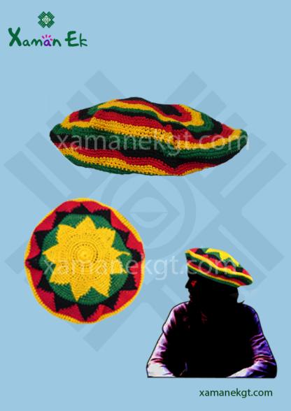 RASTA HAT BEANIE, crochet products by xaman ek