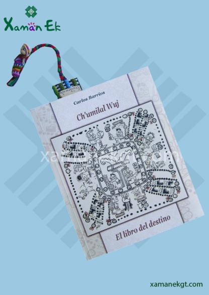 guatemalan worry doll bookmark handmade by xaman ek