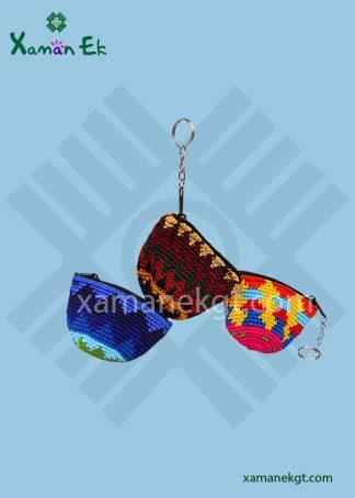Crochet Half Moon Keychain by Xaman Ek