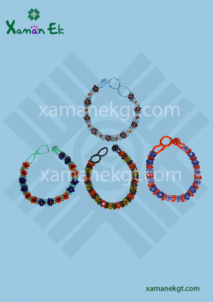 guatemalan and mayan beaded bracelets
