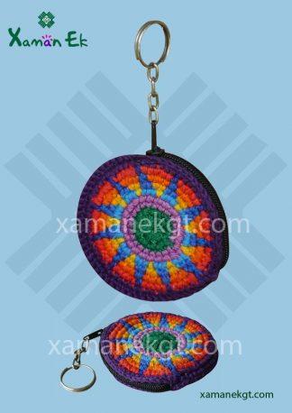Guatemalan crochet keyrings