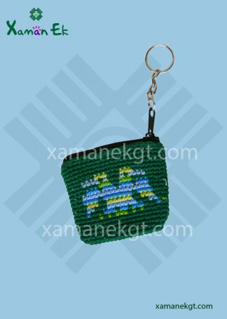 mayan crochet keyrings by xaman ek