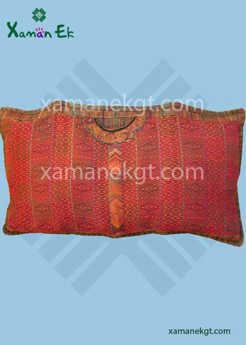 guatemalan and mayan pillow case by xaman ek