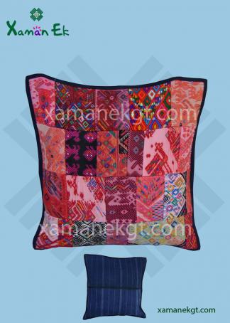 Guatemalan Pillow case Patchwork design