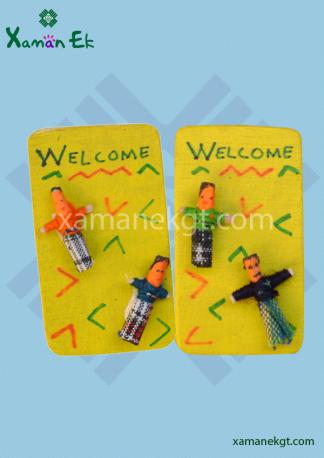 Magnetic Worry Dolls by Xaman Ek