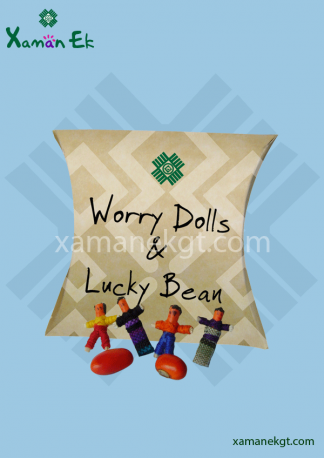 worry dolls & lucky beans by xaman ek