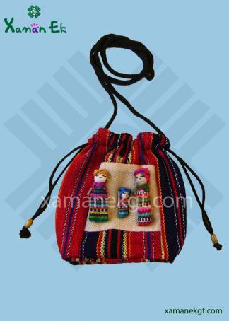 Guatemalan Worry Doll Bags Handmade in Guatemala