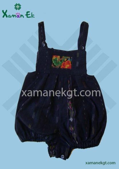 Baby Overalls handmade in Guatemala by Xaman Ek