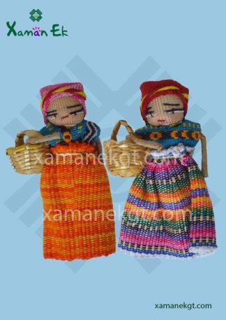 Worry dolls magnet handmade by Xaman Ekl