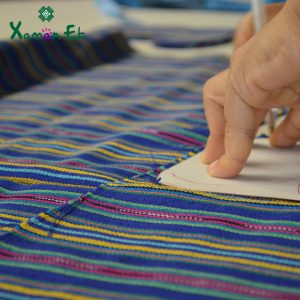 Fabric handmade in Guatemala by xaman ek