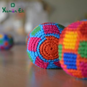 hacky sacks handmade in Guatemala by xaman ek