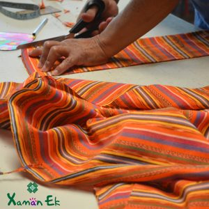 Traditional Fabric from Guatemala by Xaman Ek