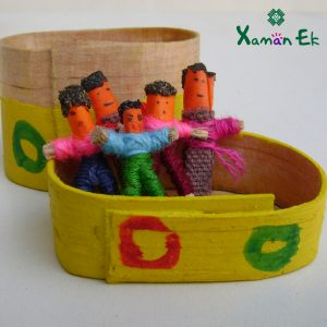 Fair trade Mini Worry dolls by xaman ek