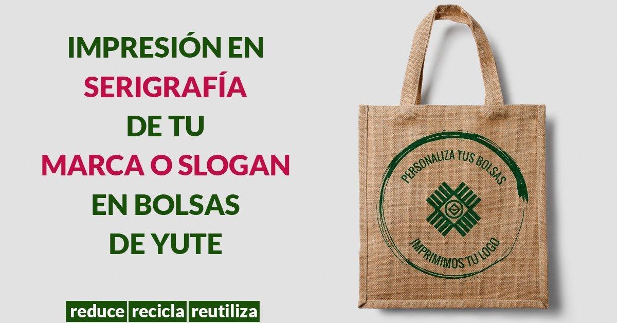 Bolsas de yute o brin hecho en guatemala por xaman ek